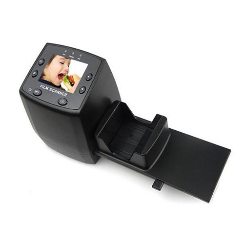 סורק נגטיבים ושקופיות בחיבור USB עם צג LCD