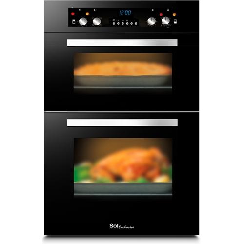 תנור אפייה בנוי דו תאי דגם TH-888