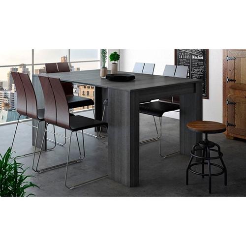 שולחן מודולרי בעל הרחבה מרכזית עם 5 הגדלות שונות