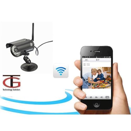 מצלמת IP אלחוטית לתנאי חוץ כולל WI-FI
