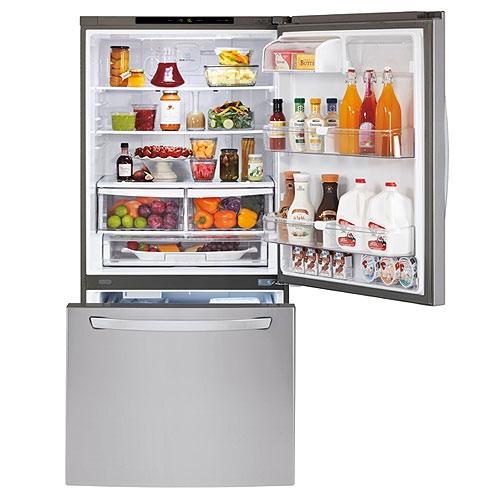 מקרר LG מקפיא תחתון נפח 681 ליטר Ice Maker