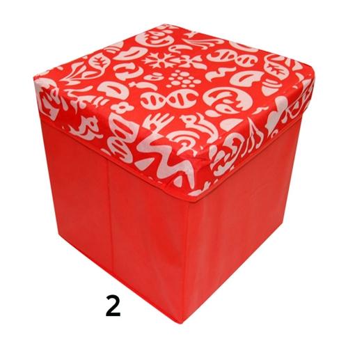 ארגז אחסון רב-תכליתי נפתח ומתקפל משמש גם כהדום