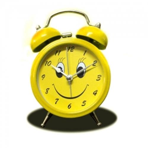שעון מעורר פעמונים בעיצוב סמיילי