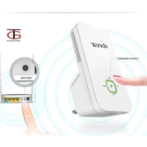 מגדיל טווח אינטרנט אלחוטי עד 300 מטר TENDA A300