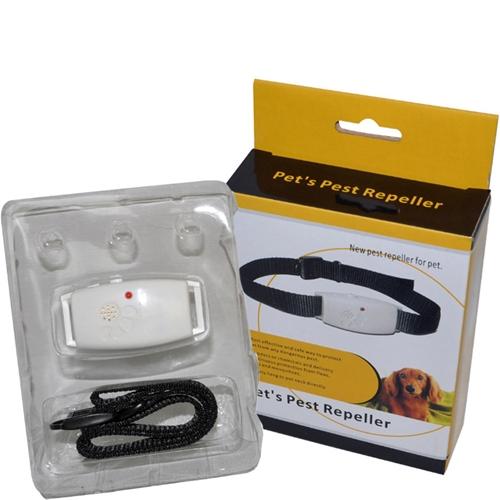 קולר אלקטרוני לכלבים נגד פרעושים וקרציות ללא רעל