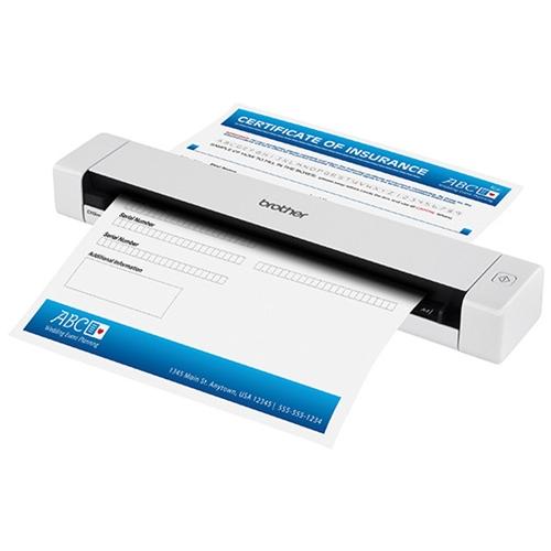 סורק מסמכים וכרטיסים נייד בחיבור USB למחשב