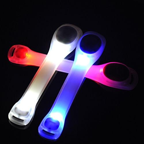 צמיד LED לזרוע לזיהוי בפעילות ספורט 2 מצבי תאורה