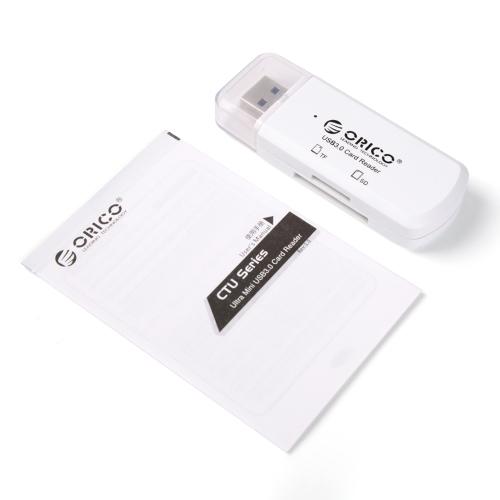 קורא כרטיסים סופר מהיר USB3 - מיקרו SD ו- SD