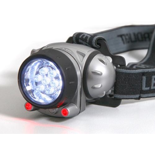 פנס ראש מתכוונן עם תאורת LED במבצע 1+1 !!