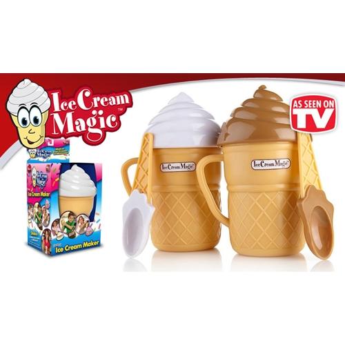מכין גלידה מהיר וקל - רק ב 3 דקות בלבד!