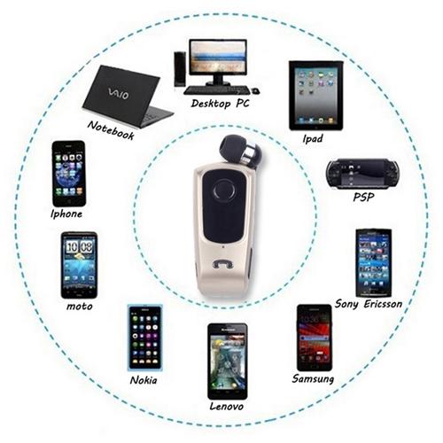 אוזניית Bluetooth אלחוטית ROLLER קליפס אחיזה
