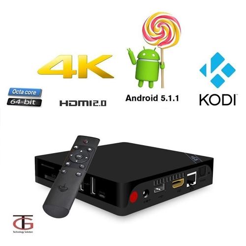 קופסת טלויזיה חכמה ANDROID SMART TV OCTA Core