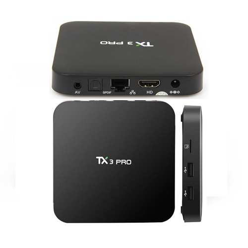 קופסת טלוויזיה חכמה TX3 PRO הדגם החדיש 2017