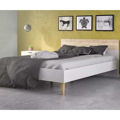 מיטה זוגית מעוצבת עם 2 שידות לילה HOME DECOR
