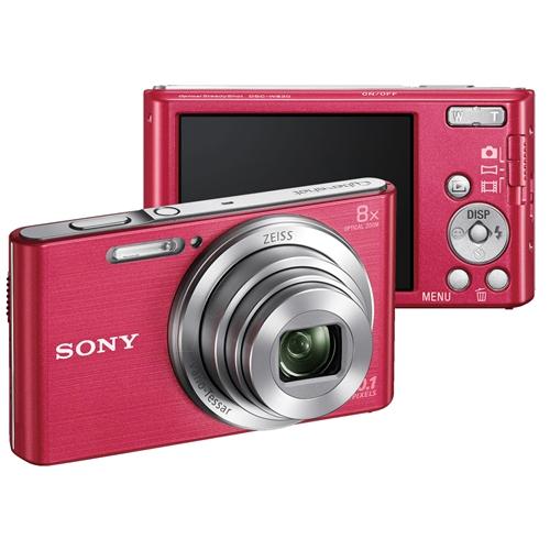 מצלמה דיגיטלית 20.1MP זום אופטי x8 דגם DSC-W830