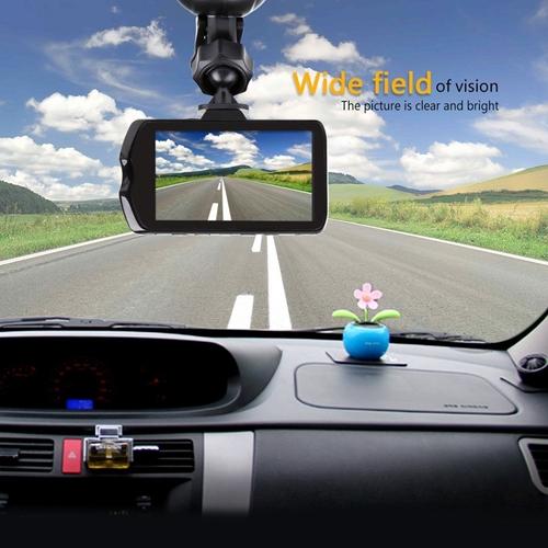 """מצלמת דרך לרכב מסך ענק """"3 לתיעוד הנסיעה גם בלילה"""