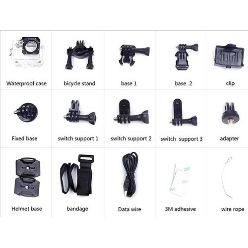 מצלמת אקסטרים באיכות 4K כולל שליטה מהסמארטפון