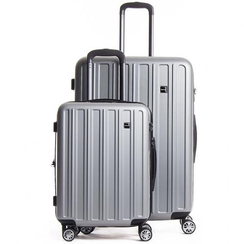 """סט מזוודות קשיחות 2 יח' 20"""" 28"""" דגם CalPaks Wander"""