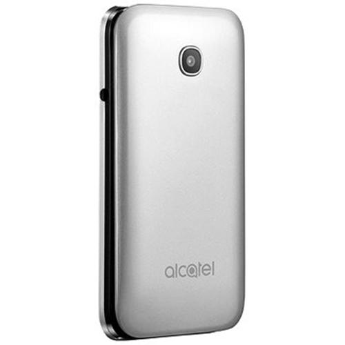 טלפון סלולרי ALCATEL OneTouch 2051D כסוף מטאלי