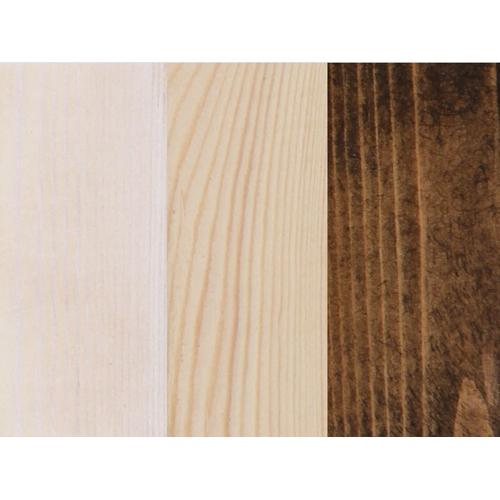 מיטה עשויה עץ אורן מלא חזק וטוב עם מזרון
