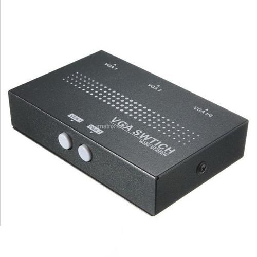 מתג מפצל VGA 1 ל-2 דו כיווני