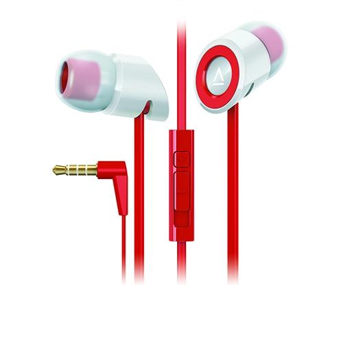 אוזניות ארגונומיות למוזיקה ושיחות Red-Black