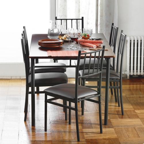פינת אוכל דגם סטינג כולל 6 כסאות תואמים HOMAX