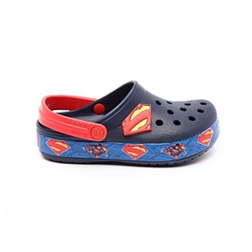 כפכפי נוחות ילדים Crocs קרוקס דגם Crocband Superman Icon