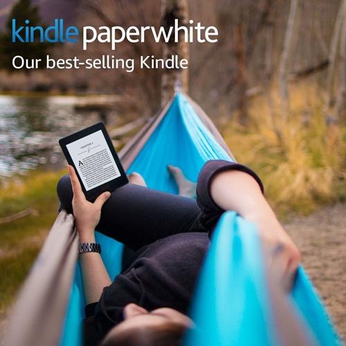 """קורא ספרים Amazon Kindle Paperwhite E-reader עם מסך מגע """"6"""