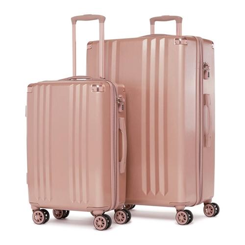 """סט מזוודות קשיחות 2 יח 28"""" 20"""" דגם  Ambeur"""