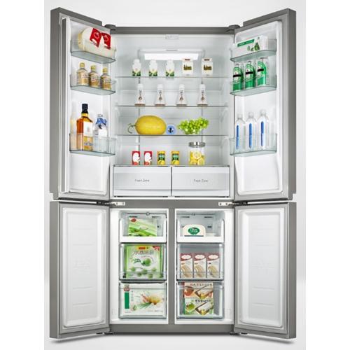 מקרר 4 דלתות 530 ליטר זכוכית בצבע לבן HQ-690WEN(Gw