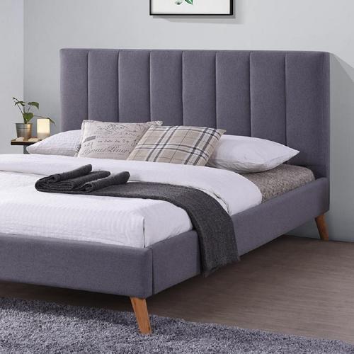 מיטה רחבה לנוער 120x190 מרופדת בד HOME DECOR