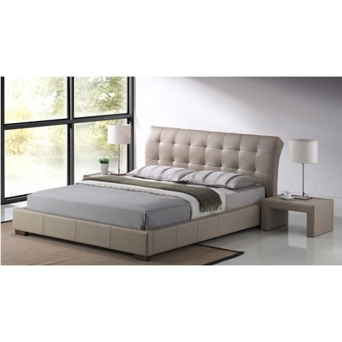 מיטה זוגית עם ארגז מצעים מרופדת LUCIANO מבית GAROX