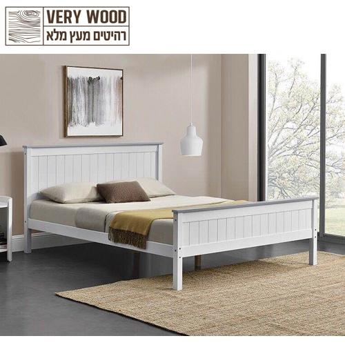 מיטה זוגית מסדרת VERY WOOD ליטל 160 בית HOME DECOR