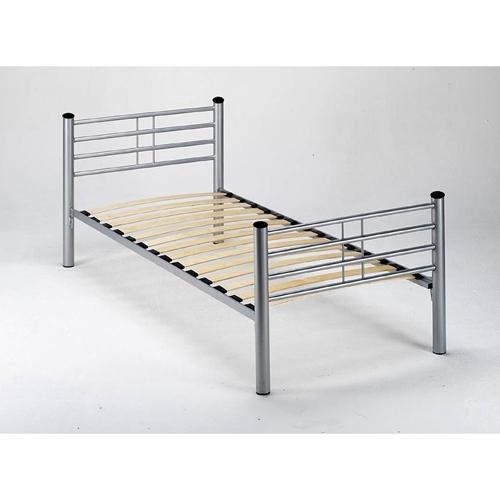 מיטת מתכת ברוחב וחצי 120*190 ס''מ דגם KALIA