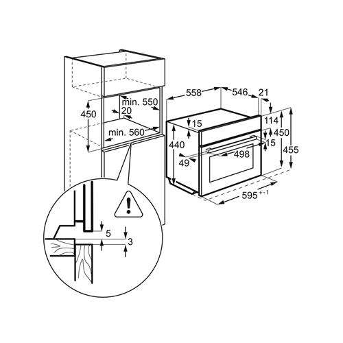 תנור רב-תכליתי 43 ל' עם טורבו אקטיבי משולב מיקרוגל