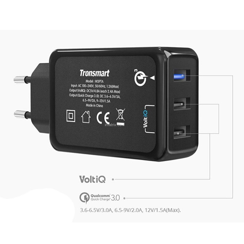 מטען קיר TRONSMART מהיר QUALCOMM QUICK CHARGE 3.0