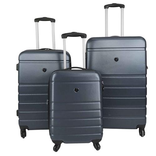 """סט מזוודות קשיחות SWISS BRIEF """"20 """"24 """"28"""