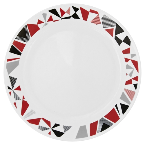 סט צלחות 18 חלקים ל 6 סועדים Mosaic Red
