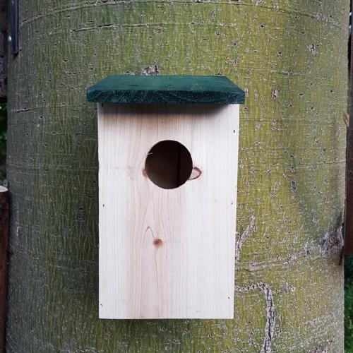תיבת קינון לציפורי שיר ובר קטנות – למרפסת ולגינה!