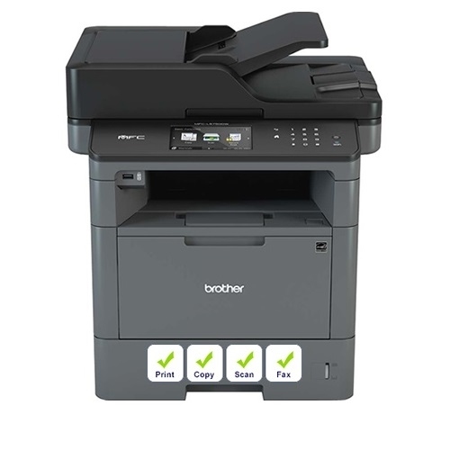 מדפסת משולבת אלחוטית דגם MFC-L5750DW מבית Brother