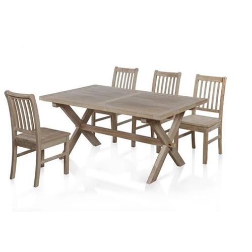 סט פינת אוכל שולחן+4 כיסאות דגם אוטיס - ביתילי