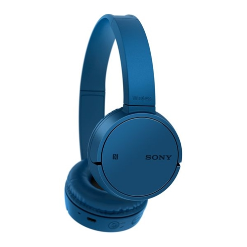 אוזניות אלחוטיות דינמיות מרופדות BT NFC מבית SONY