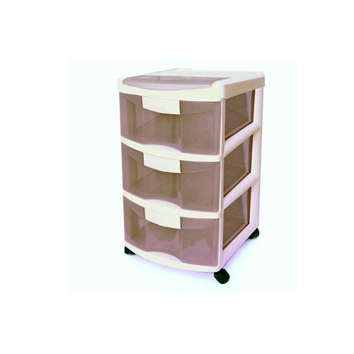ארגונית 3 מגירות אידיאלית לשימוש בבית ובמשרד KETER