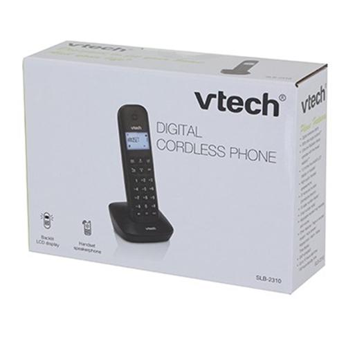 טלפון דק שחור Vtech דגם SLB-2310
