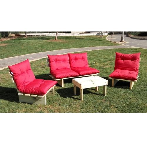 מערכת ישיבה איכותית 3 ספסלים שולחן וסט ריפודים מלא