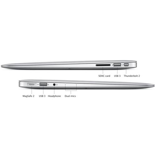 """מחשב נייד 13.3"""" דגם MacBook Air MMGG2LLA בית Apple"""