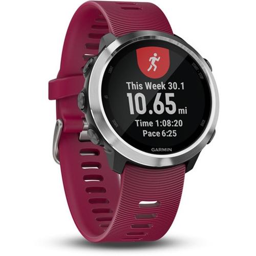 שעון ספורט חכם בצבע אדום Forerunner 645 בית Garmin