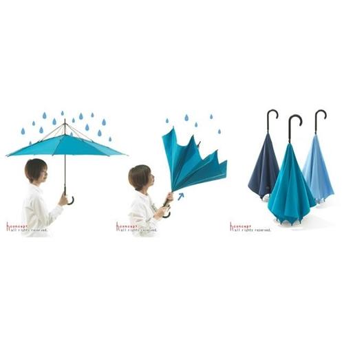מטרייה הפוכה ענקית וחזקה שמשאירה אתכם יבשים