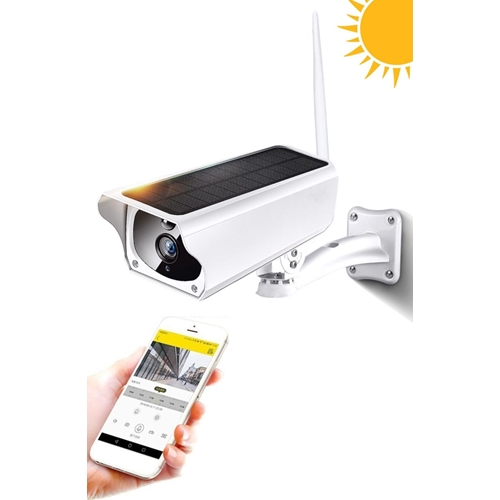 מצלמת אבטחה אלחוטית IP באנרגיה סולארית